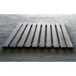 Caillebotis bois occasion - Plancher sapin 1340 X 1100 mm