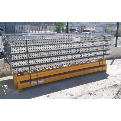 Lot de rayonnages occasion 3500 mm